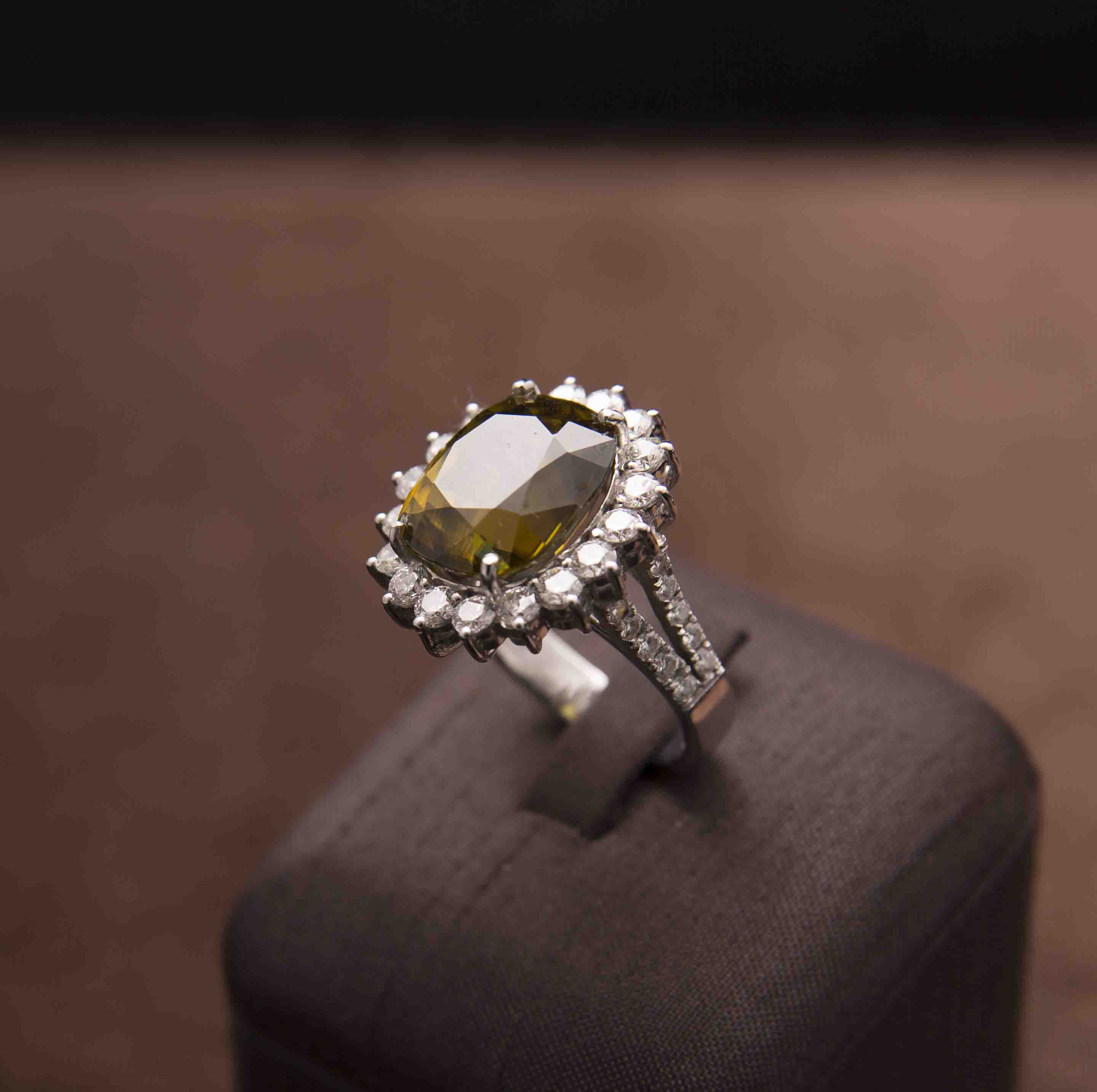 in from rings collection and elizabeth henry diamond sphene virginia products the green tsavorite ring img garnet